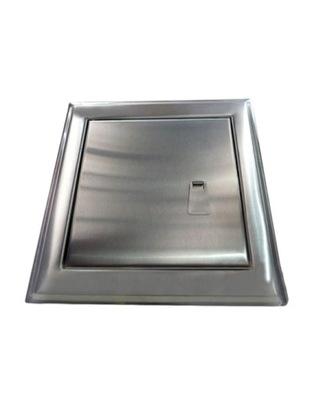 Revízne dvierka - Dvere z nehrdzavejúcej ocele s 25x35 držadlom