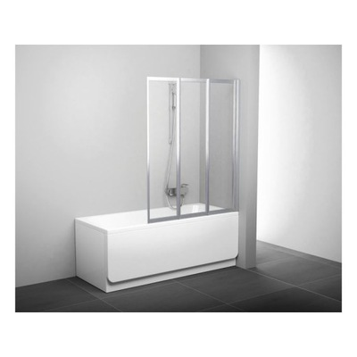 Sprchové dvere - Trojdielna obrazovka Ravak Supernova 795P010041