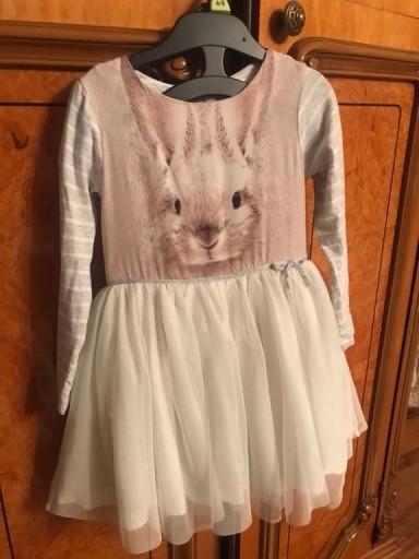 Next sukienka zara lew tygrys tiul bal szał