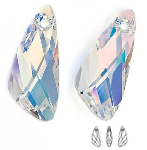 6690 Swarovski Wing 23mm Crystal AB