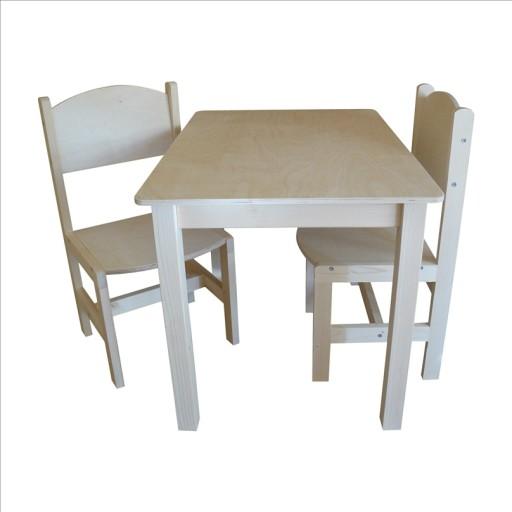 Stolik 2 Krzesełka Dla Starszaka Pełne