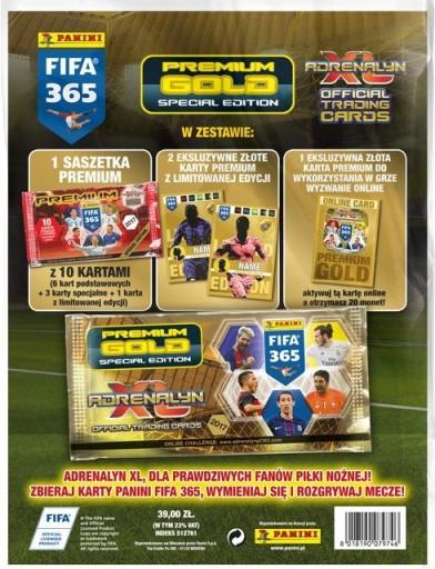 SASZETKI PREMIUM GOLD LIMITED FIFA 365 2017 - 7,90
