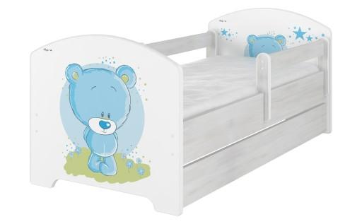 łóżko Dziecięce Dzieci Oskar X Baby Boo 160x80 Pk