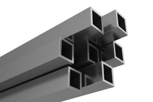 Profil aluminiowy rura kwadratowa 30x3mm  - 100 cm