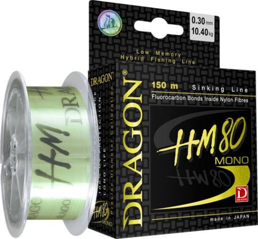 ŻYŁKA DRAGON HM80 0,161mm/150m KLEŃ JAŹ OKOŃ
