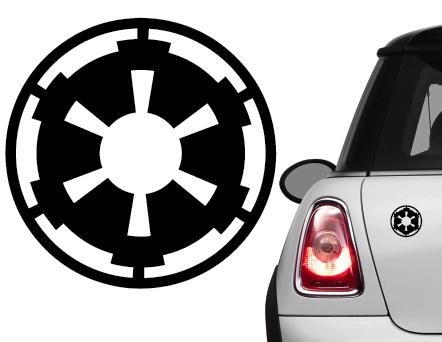 Naklejka na samochód Imperium Star Wars Empire