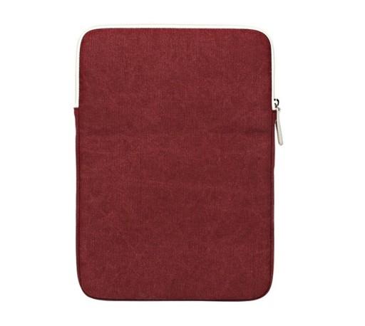 WROCŁAW Etui Canvas na laptopa 13,3 czerwony