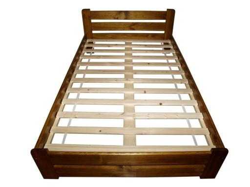 Stelaż Wkład Do łóżka Drewniany 140x200 Poducent