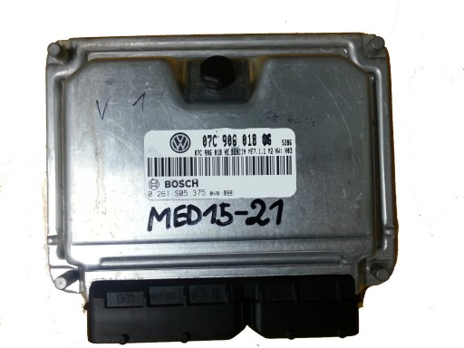 ECU BENTLEY CONTINENTAL 0261S05375 07C906018GG