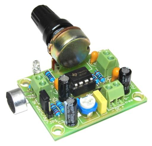 AR172 Wzmacniacz mikrofonowy kit