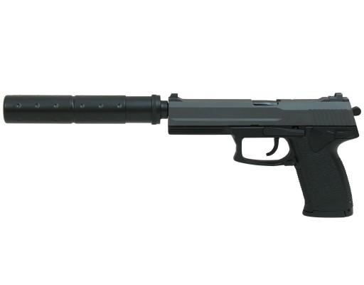 Pistolet ASG DL60 Socom (15918) z tłumikiem