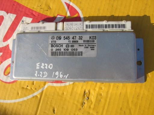KOMPIUTERIS ETS 0265109053 0195454732 MERCEDES-BENZ E220