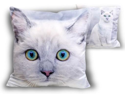 Poduszka Z Wypełnieniem Koty Kociaki Dekoracyjna