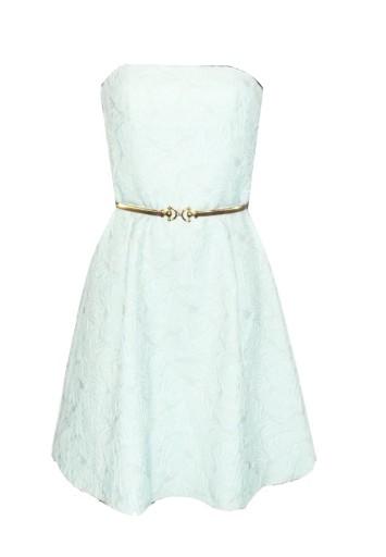 605e7903a3 miętowa żakardowa sukienka Top Secret 36 38 7464001414 - Allegro.pl - Więcej  niż aukcje.