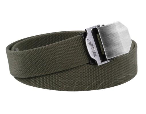 Pasek Texar do spodni Lux Olive 140 cm