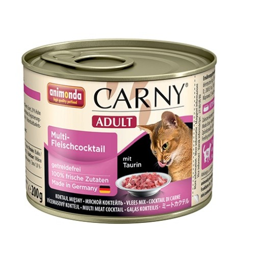 ANIMONDA CARNY Adult 200g: koktajl mięsny