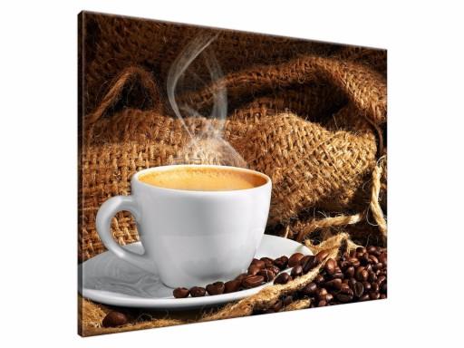 Obraz Kawa Do Kuchni 50x40 Obrazy Drukowane