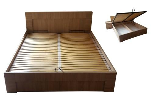 łóżko 140 X 200 Ocean Sonoma15 Kolorów Pojemnik