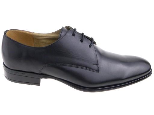 039e3e92 WOJAS buty wizytowe 9025-51 czarne, skóra 43 5458778338 - Allegro.pl