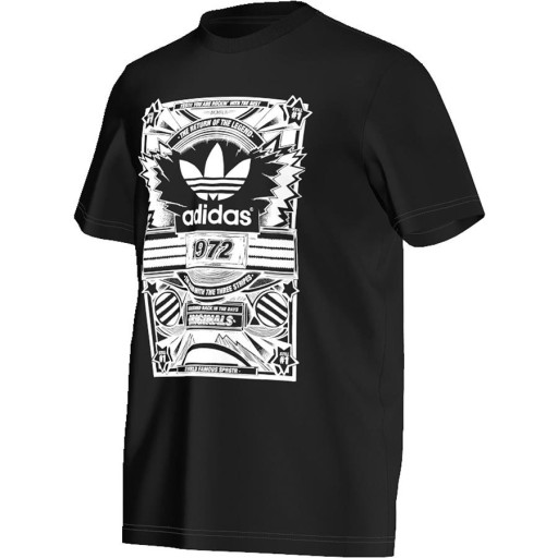T Shirt adidas Originals Street Ori czarna r S