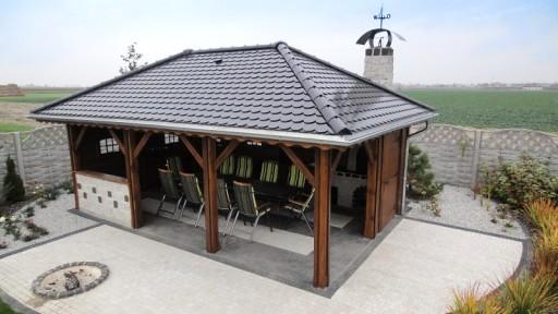 Altana Montaż W Cenie Konstrukcja Drewno Klejone