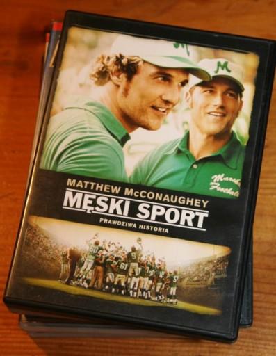 MĘSKI SPORT          DVD