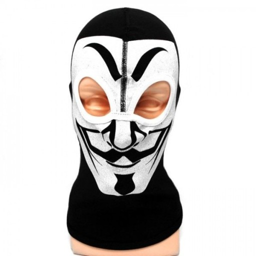 Kominiarka bawełniana Vendetta 2 otwory