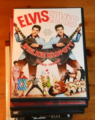 WIELKIE KŁOPOTY    ELVIS PRESLEY     DVD