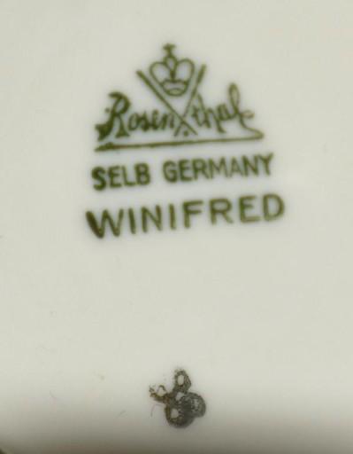 Rosenthal winifred 1bulionowka z podstawk. st dosk
