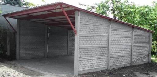 Ogrodzenia Betonowe Słupki Płyty Wiaty Garaże 7741554225 Allegropl