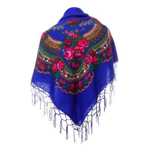 797ef6db88bd80 Chusta GÓRALSKA apaszka chustka folk ludowa DUŻA 5565943877 - Allegro.pl