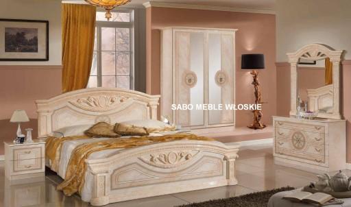 Włoska Sypialnia Roma 4d160 Różowa Sabo Meble