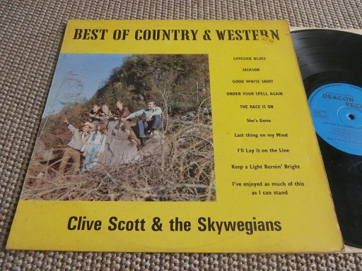 CLIVE SCOTT And THE SKYWEGIANS Best Of Contry and