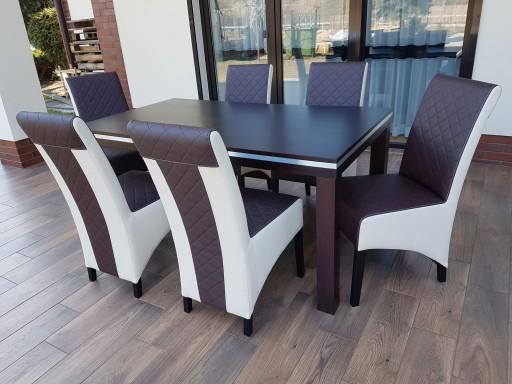 Stół I Krzesła 6 Sztuk Zestaw Do Jadalni Salonu