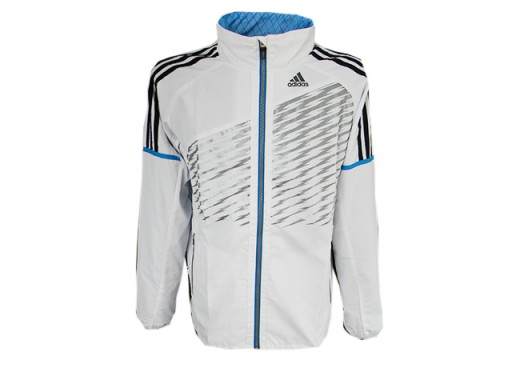 Bluza wiatrówka Adidas running S czarna