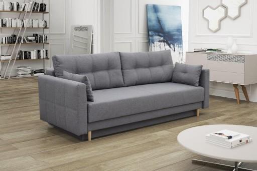 Kanapa Sofa Tapczan Luna Sprężyny Rozkładana Salon
