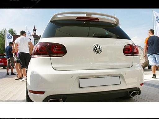 Vw Golf Vi Mk6 Spoiler Daszek Nowosc Lodz Allegro Pl