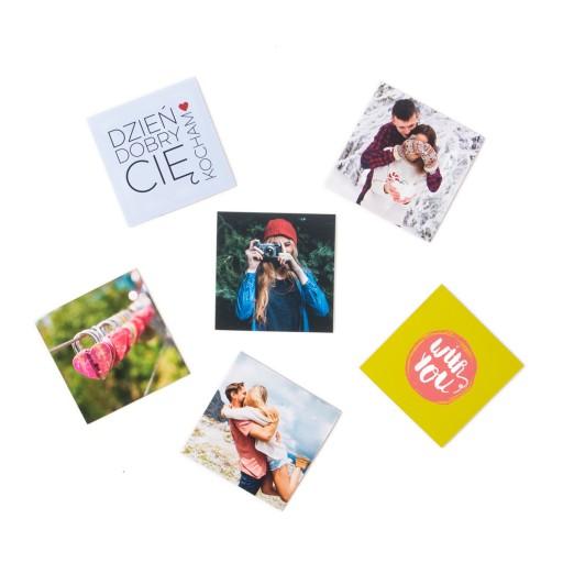 Chwalebne Foto-magnes na lodówkę 6,5x6,5 6 szt Twoje zdjęcie 7013611642 OP27