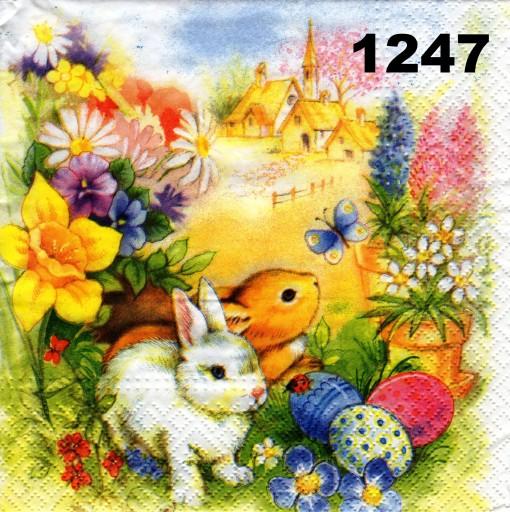 Serwetki Do Decoupage 2szt Wielkanoc Nr 1247 7676910834 Allegro Pl