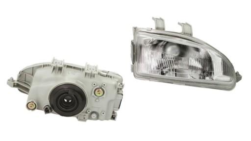 HONDA CIVIC 5 V 91- EG EJ EH9 REFLEKTOR LAMPA P