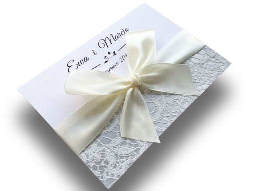 Zaproszenia ślubne Luxor 3 Z Kopertą Promocja 6690250050 Allegropl