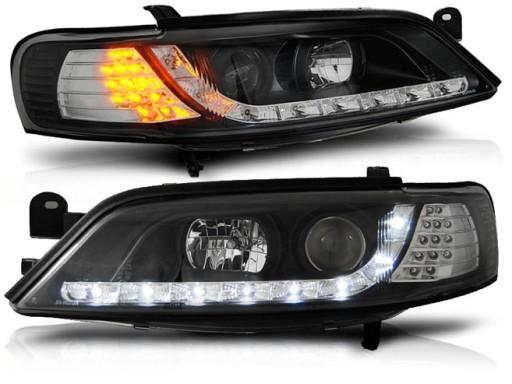 Lampy Przod Opel Vectra B 95 98 Black Led Diodowe Pajeczno Allegro Pl