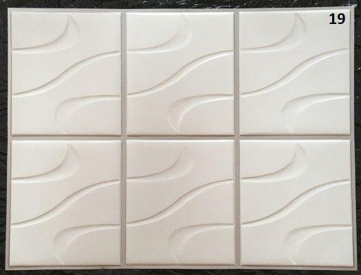 Kafelki Plastikowe Okładzina ścienna Płytki Pcv 3d