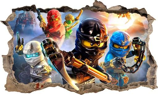 Naklejka Plakat Na ścianę Lego Ninjago 3d Xxl