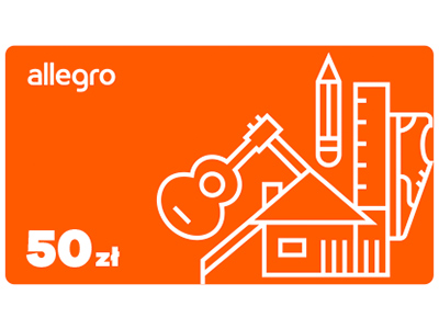 Karta Podarunkowa Allegro - 50 zł