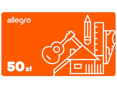 Karta Podarunkowa Allegro 50 Zl 5838136952 Allegro Pl