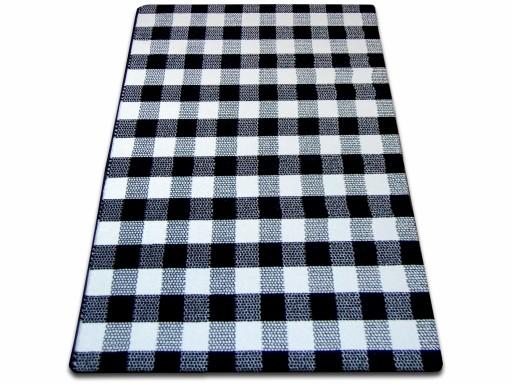 Dywany łuszczów Sketch 80x150 Kratka Gr1715