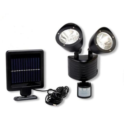 Lampa Solarna Czujnik Ruchu 22 Led Solar Halogen 5911205909 Allegropl