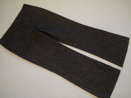 ŚWIETNE spodnie w paski DOROTHY PERKINS r.42