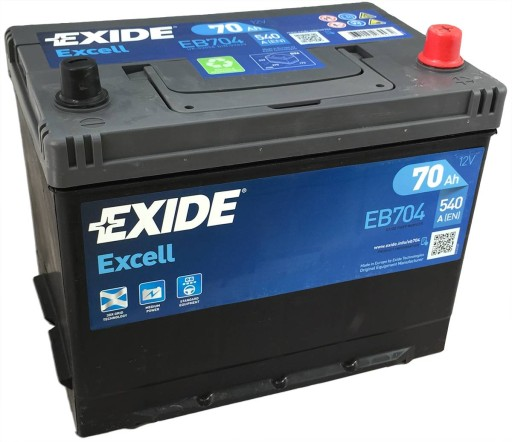 Jaguar  E-Type  akumulator EXIDE  f.VAT
